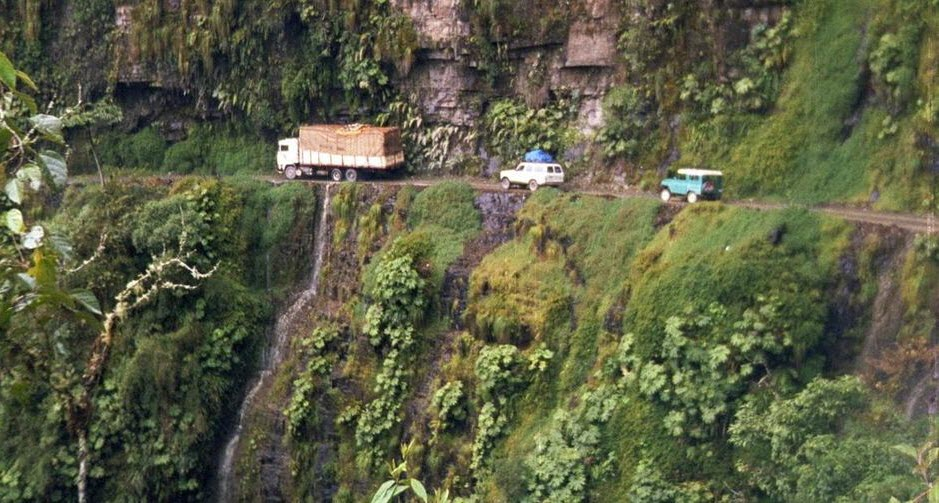 Bolivia - Yungas Road