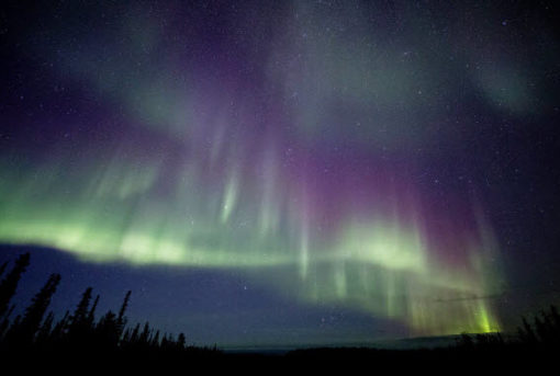 Canada is getting ready for Northern Lights