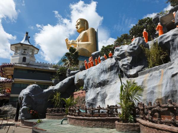 Buddhist Monk in Sri Lanka