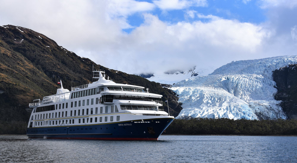 Day 12 -16 Sail through the Wild Beauty of Patagonia on a 5 day Australis Expedition Cruise to Chile