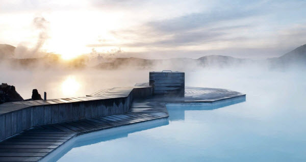 Forward Travel - Blue Lagoon Iceland