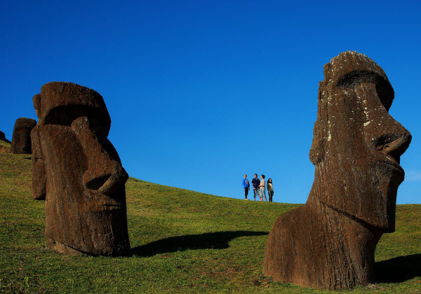 Forward Travel - Easter Island Chile
