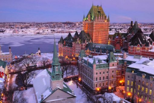 Forward Travel - Eastern Canada