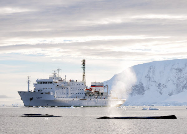 Forward Travel - Getting to Antarctica