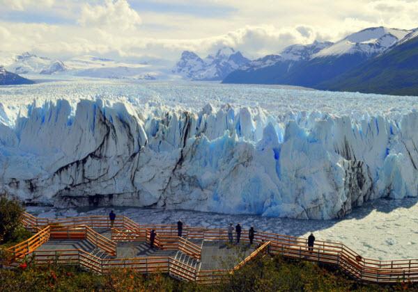 Forward Travel - Perito Merino Glacier Argentina