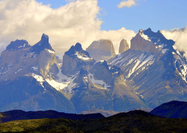 Forward Travel -Torres del Paine Patagonia Chile