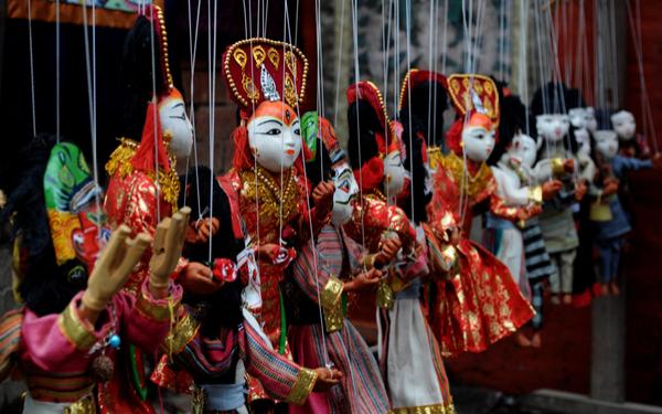 Kumari Dolls in Nepal