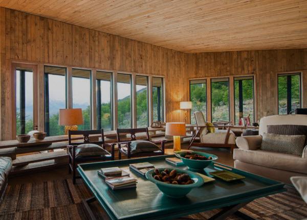 Lounge at Awasi Patagonia