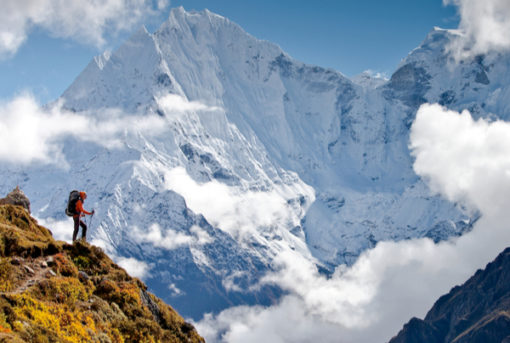 Nepal a destination for Trekking