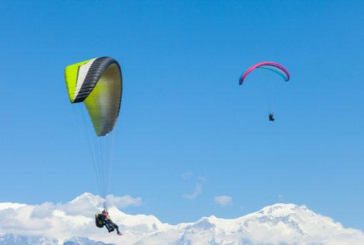 Paragliding in Annapurna