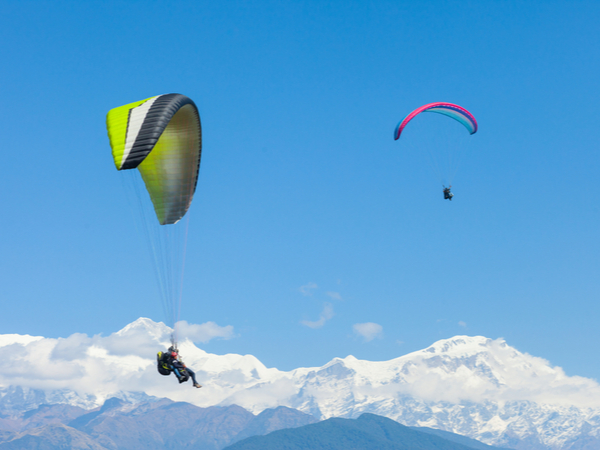 Paragliding in Annapurna