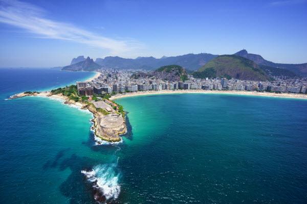 Copacabana beach and Ipanema beach - Rio de Janeiro