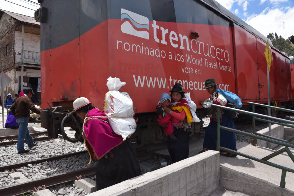 Rail travel in South America