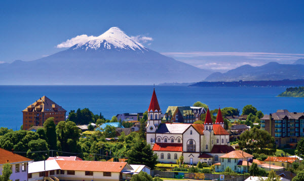 Chile - Lakes and Volcanoes