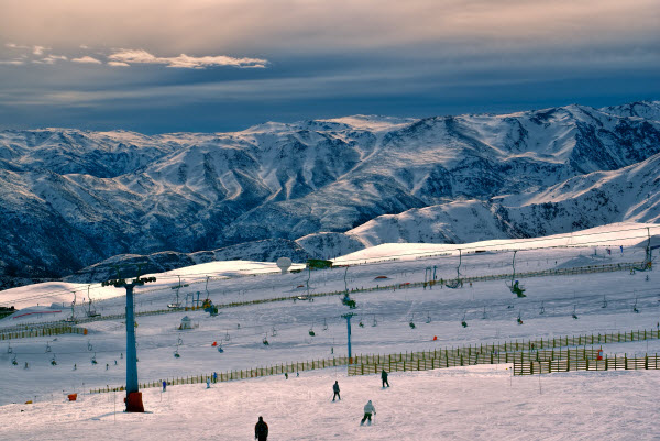 Chile offers 37 ski runs