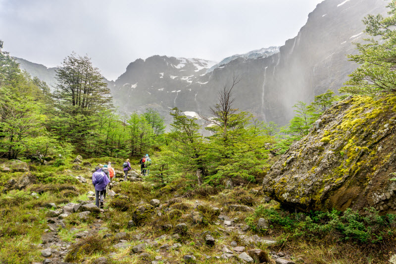 Combine hiking with other adventure sports