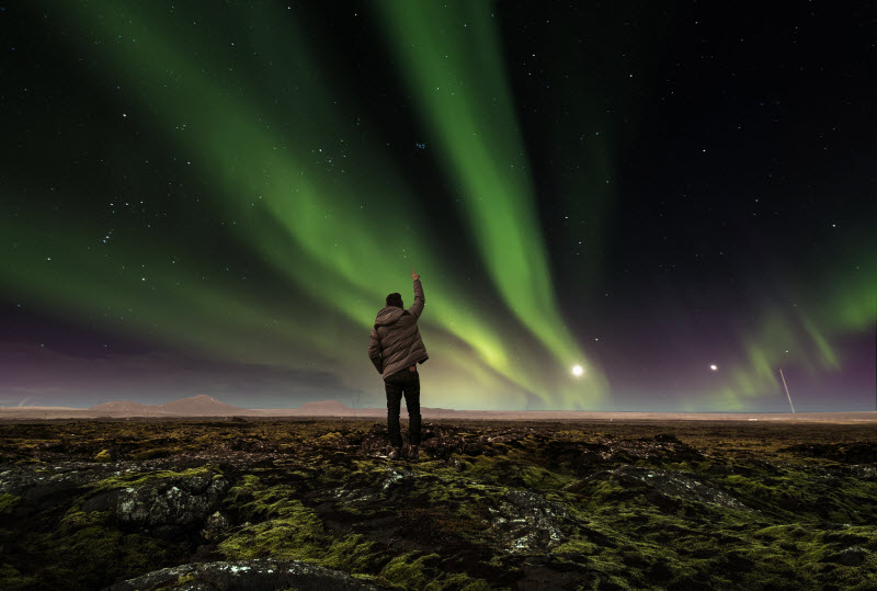 How to see Northern Lights