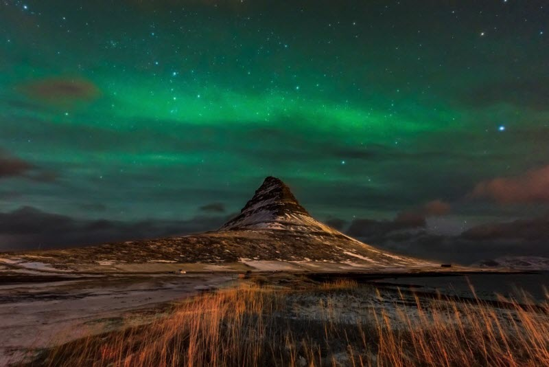 Kirkjufell Aurora - Northern Lights