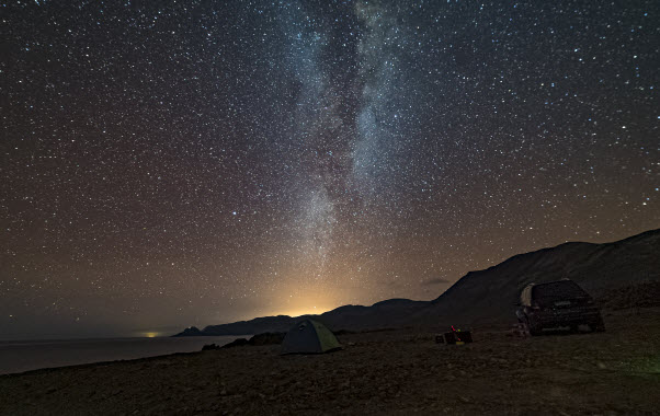 Stargaze at Chile