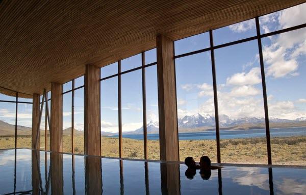 Tierra Patagonia pool
