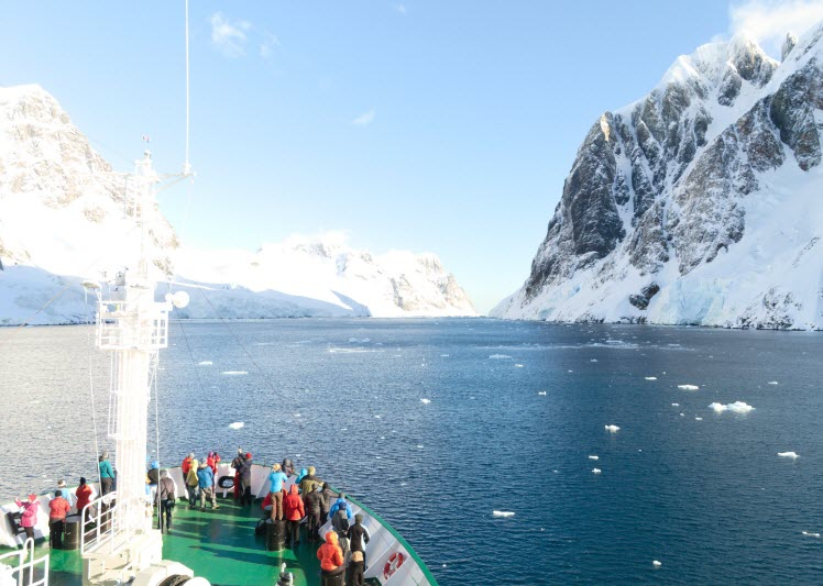 Cruised the still waters of Antarctica