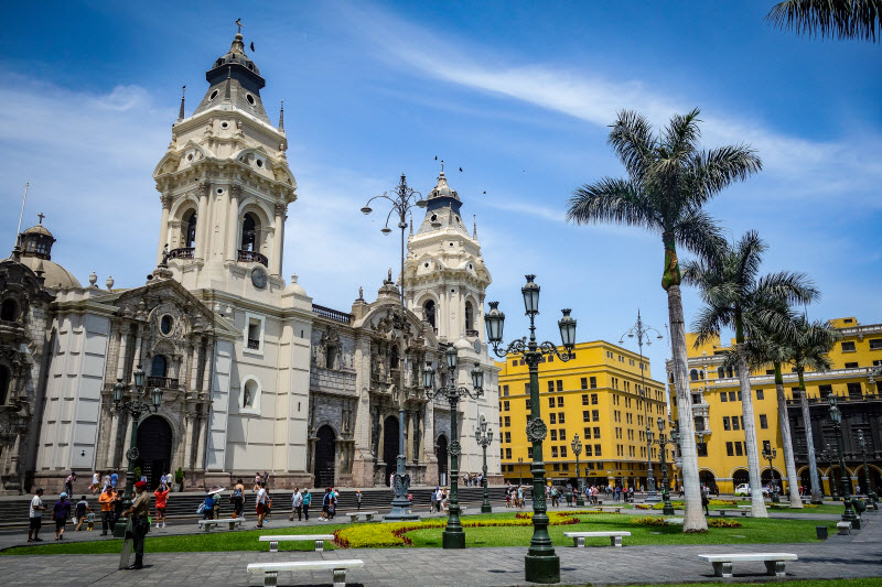 Day 2. Lima Cathedral and Plaza de Armas