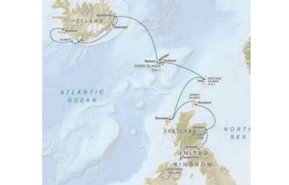 Scotland, Faroe Islands and Iceland