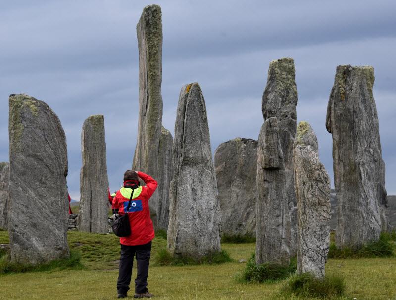 Skara Brae on The Orkney Islands