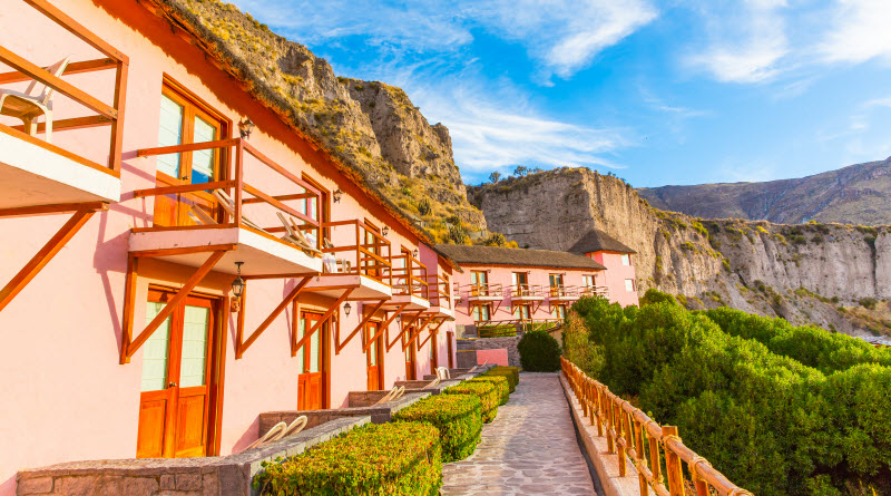 Types of accommodation in Peru