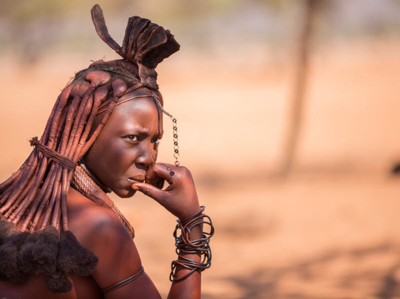 Meet the Himba Tribe in Namibia