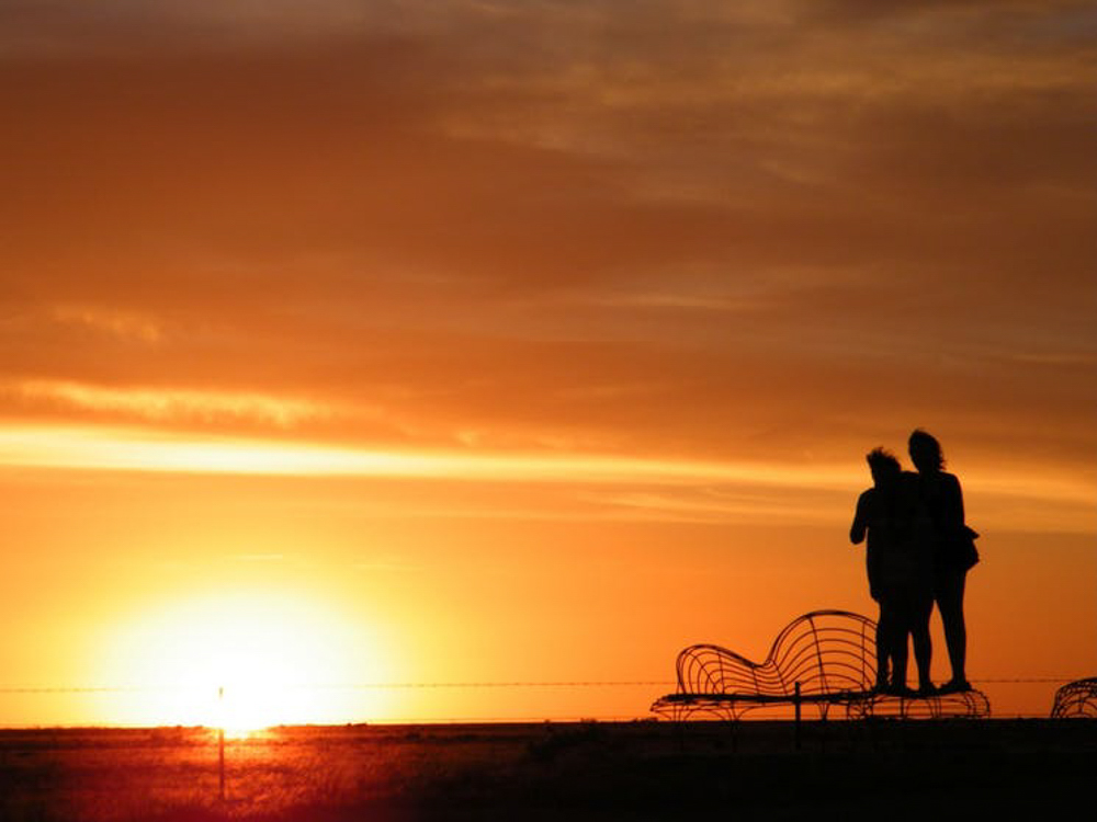 Sunset over Hay in NSW | Travel NSW | Forward Travel