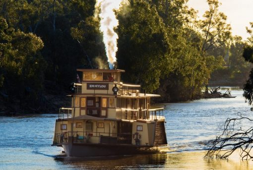 PS Emmylou - Murray River Cruise | NSW Getaway | Forward Travel